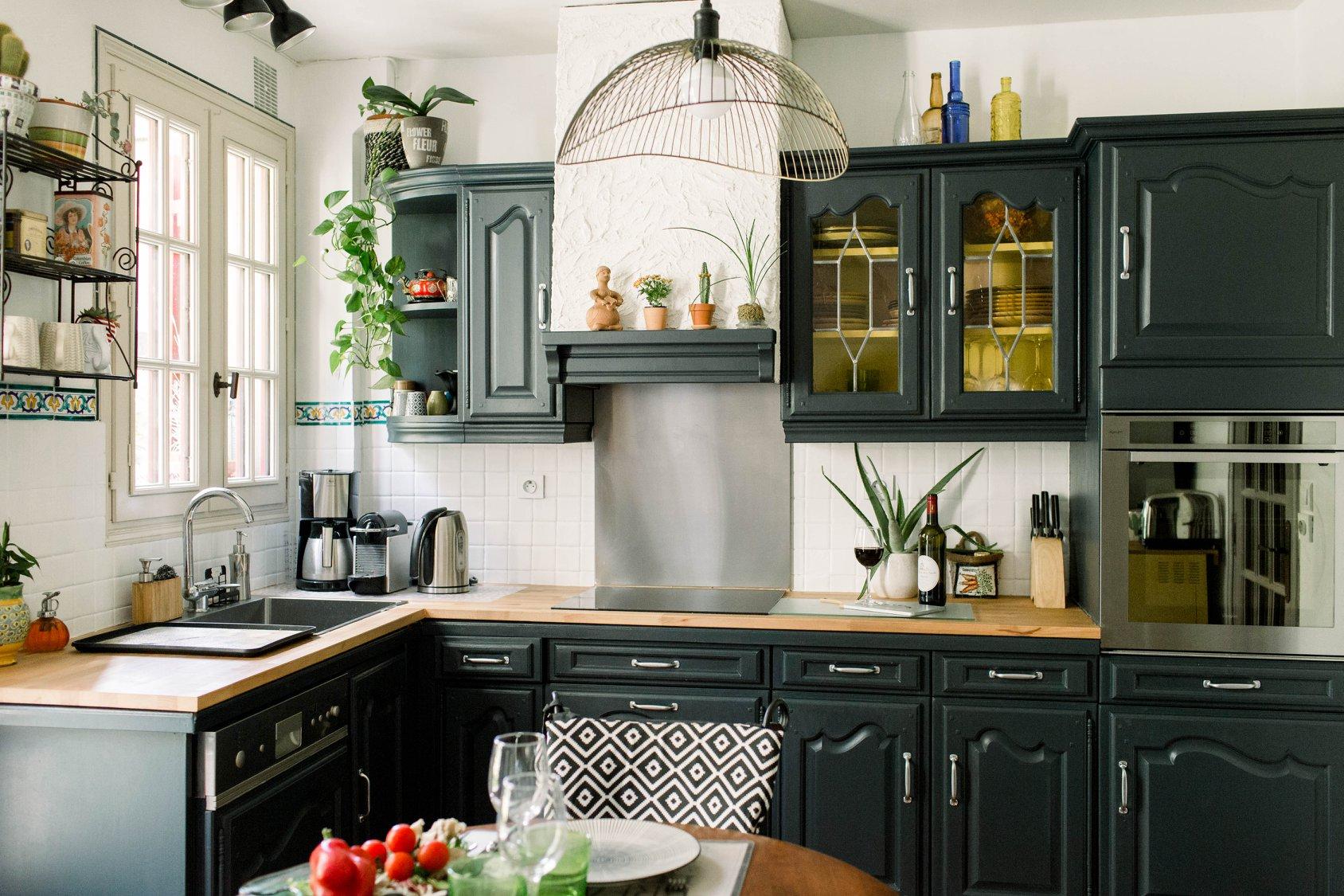 Relooking cuisine peinture passion d co - Coach cuisine a domicile ...